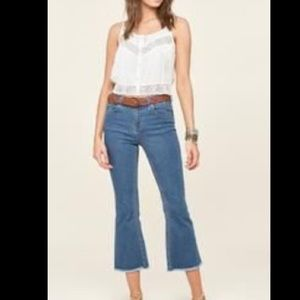 Amuse Society Coastline Flares Jeans NWT